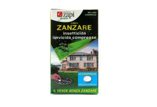 Zapi larvicida compresse zanzare