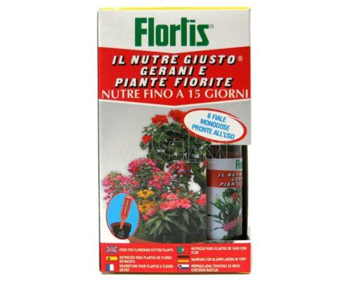 nutre giusto gerani e piante fiorite flortis 6_fiale
