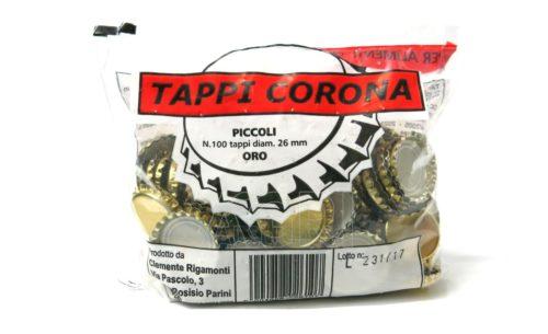 tappi corona mm 26 pz100