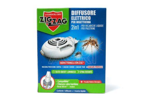zig zag diffusore elettrico