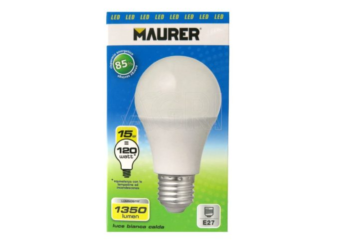 lampadina led maurer 15_watt