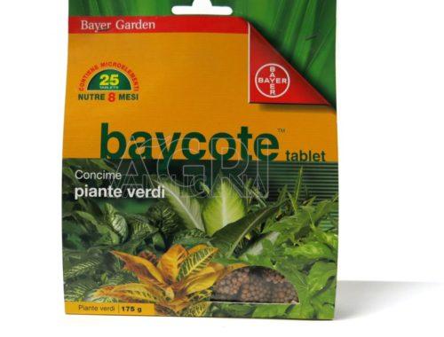 Baycote tablet piante verdi 125 gr