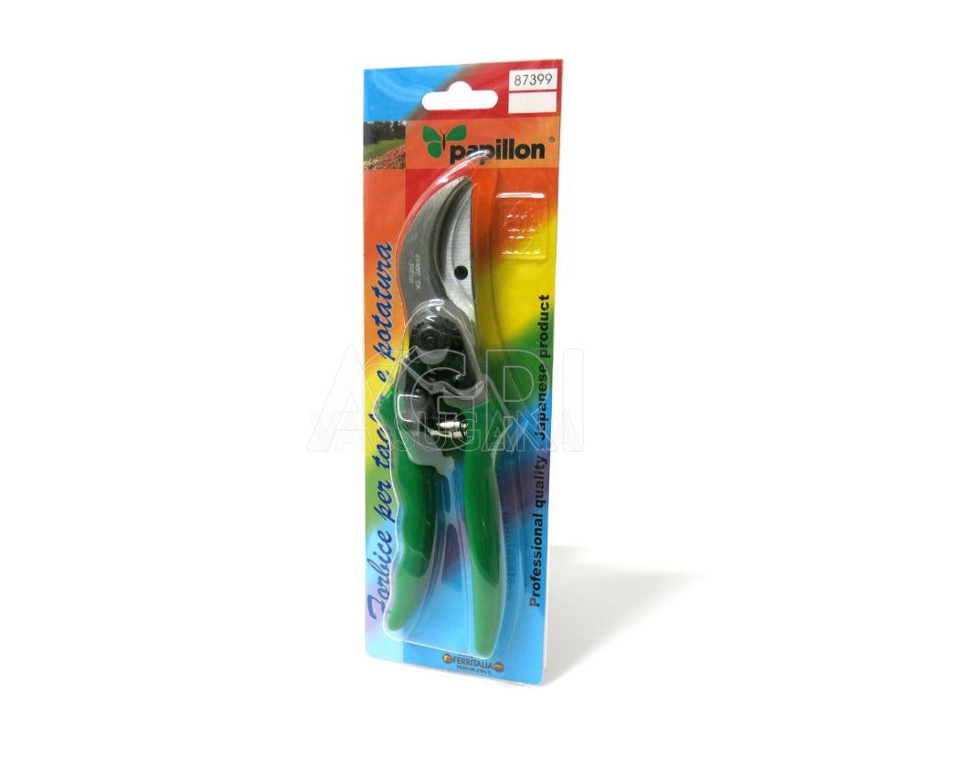 18 mm  mod.Kanzawa Papilllon Forbice da potatura professionale 220 mm Taglio