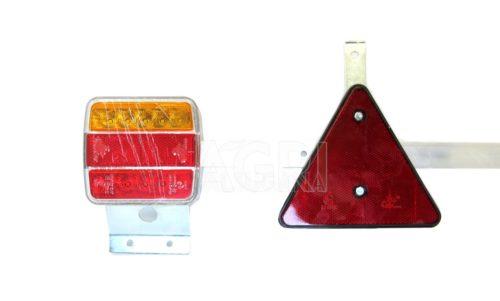 barra posteriore luci led cm 120-170 cavo mt 7,5