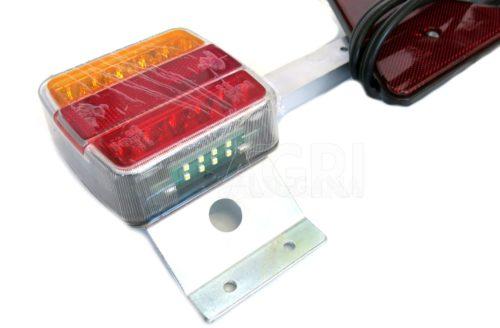 barra posteriore luci led cm 120-170 cavo mt_7,5