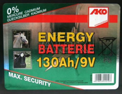 batteria 9V 130 ah