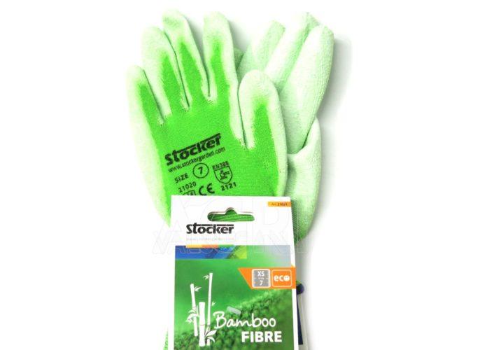guanti in fibra bambù stocker