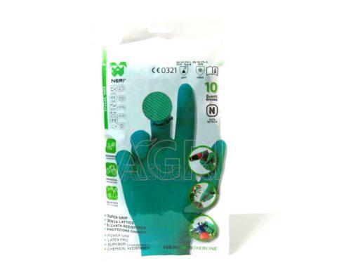 guanti nitrile green monkey