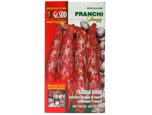 fagiolo borlotto nano lingua di fuoco Franchi gr_500