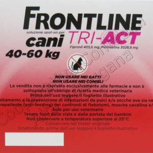 Frontline Tri-Act cani 40-60 kg