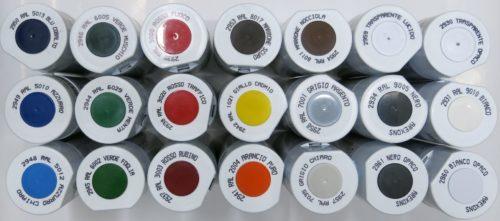 Acril spray Arexons ml 400 arancio RAL 2004 3
