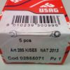 Serie 5 chiavi combinate Usag a cricchetto art. 285 K/SE5