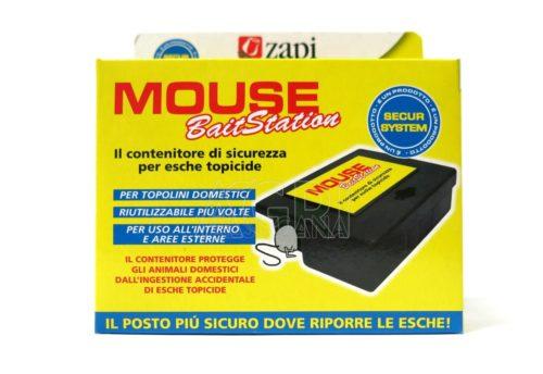 mouse bait station contenitore esche topicide zapi