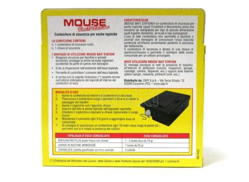 mouse bait station contenitore esche topicide_zapi