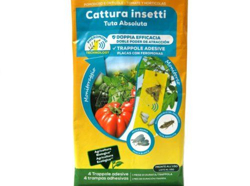 Solabiol trappola adesiva cattura insetti 4 pz