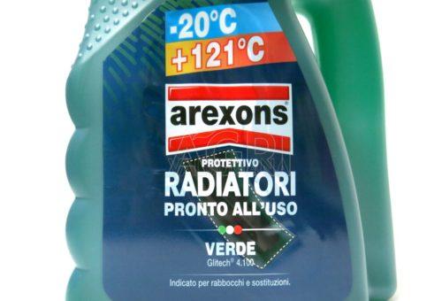 protettivo antigelo verde pronto uso arexons lt 4.5