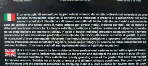 Prato turbo Franchi_sementi_gr_1000